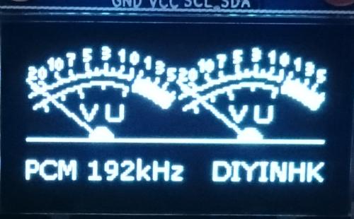 LCDにPCM192KHzと
