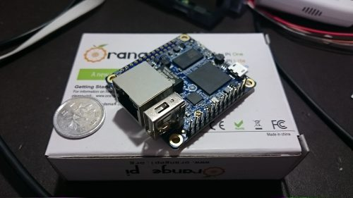orange pi ZERO で USBDACを鳴らす