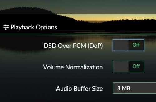 Volumio2 ネイティブDSDに対応