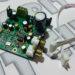I2Sは5極TXコネクタソケット。ケーブルと基板ソケットが一つ付属。